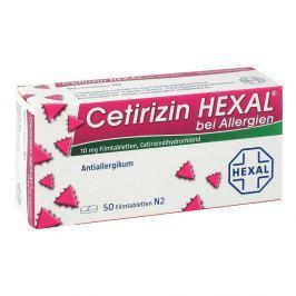 Cetirizin Hexal na alergie tabletki