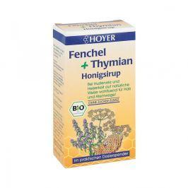 Hoyer syrop z miodem, tymiankiem i koprem Przeziębienie i grypa