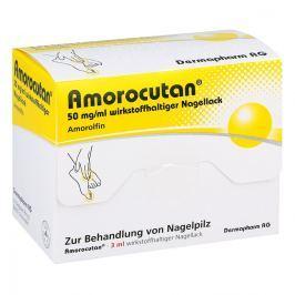 Amorocutan 50 mg/ml wirkstoffhaltiger Nagellack Skóra
