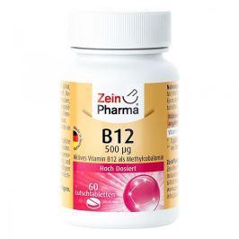 Vitamin B12 500 [my]g Methylcobalamin Lutschtablet Witaminy, minerały, suplementy diety