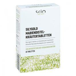 Tabletki ziołowe Silygold z ostu mlecznego Żołądek i jelita