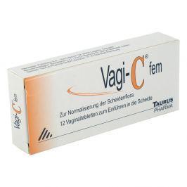 Vagi C Fem tabletki dopochwowe Kosmetyki do higieny intymnej