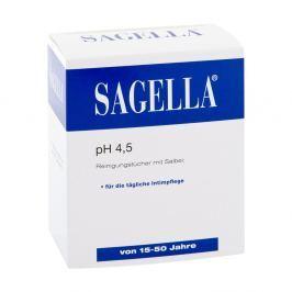 Sagella pH 4,5 chusteczki do higieny intymnej Kosmetyki do higieny intymnej