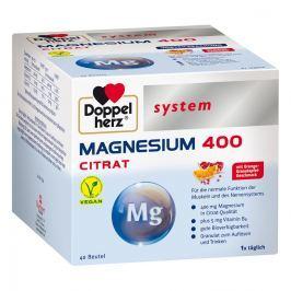 Doppelherz Cytrynian magnesu 400 – granulki