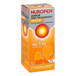 Nurofen Junior Fieb.+schmerzsaft Orange 40mg/ml