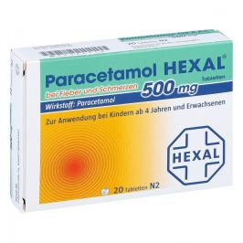 Hexal Paracetamol 500mg goraczka i ból, tabletki