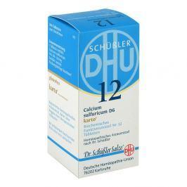 Biochemie Dhu 12 Calcium sulfur.D 6 Karto Tabl.