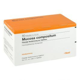 Mucosa Compositum ampułki do iniekcji