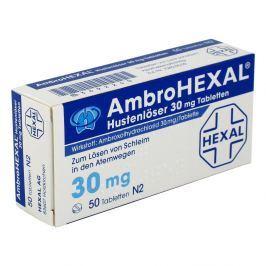 Ambrohexal Hustenloeser 30 mg Tabl.