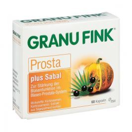 Granu Fink Prosta plus Kapsułki na prostatę z owoców sabala