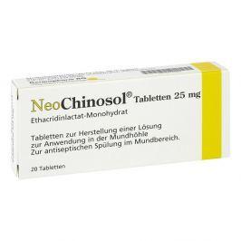 Neo Chinosol tabletki do dezynfekcji gardła