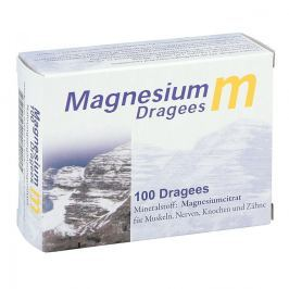Magnesium M drażetki