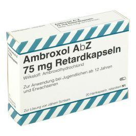 Ambroxol Abz 75 mg Retardkaps.