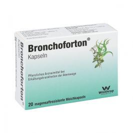 Bronchoforton Kapseln magensaftr.