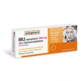 IBU Ratiopharm tabletki przeciwbólowe 400 mg
