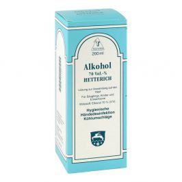Alkohol 70% V/v Hetterich roztwór