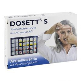 Dosett S Arzneikassette blau 11782 kaseta na lekarstwa niebieska