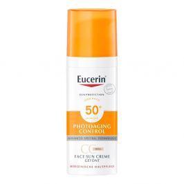 Eucerin Sun krem tonujący CC SPF 50+ odcień jasny