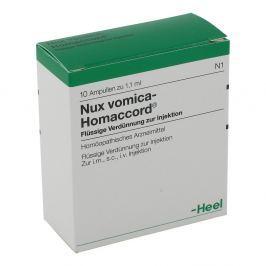 Heel Nux Vomica Homaccord ampułki 1,1 ml