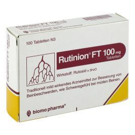 Rutinion Ft 100 mg Tabl.