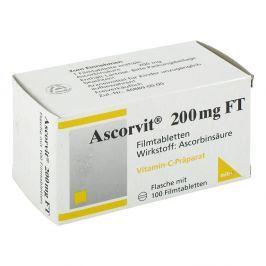 Ascorvit 200 mg Ft tabletki powlekane