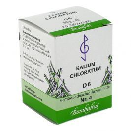 Biochemie 4 Kalium chloratum D 6 Tabl.