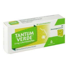 Tantum Verde 3 mg mit Zitronengeschmack Lutschtab.