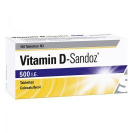 Vitamin D Sandoz 500 I.e. Tabletten