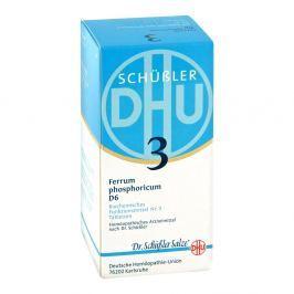 Biochemie DHU Nr 3 fosforan żelaza tabletki D6 tabletki
