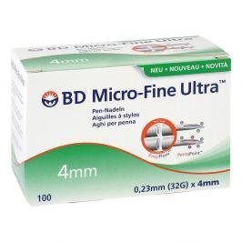 Bd Micro Fine Ultra Pen-nadeln 0,23x4 mm