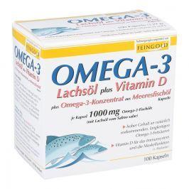 Omega 3 Lachsoel plus Vit.d pl. Omega3 Konz.kps.