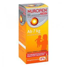 Nurofen Junior sok na ból i gorączkę truskawkowy 40mg/ml