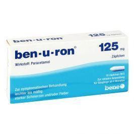 Ben U Ron 125 mg Saeuglings-suppos.