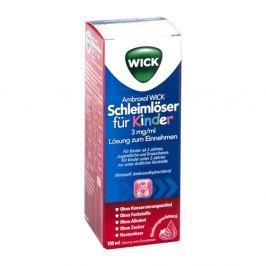 Ambroxol Wick Schleimlöser für Kind.3mg/ml L.z.einn.
