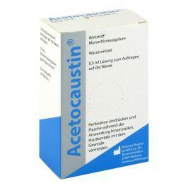 Acetocaustin likwidacja brodawek