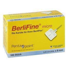 Berlifine micro Kanülen 0,25x8 mm