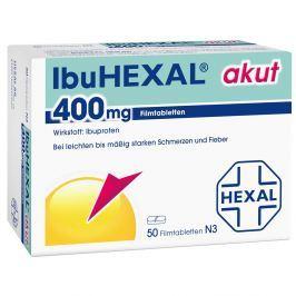 IbuHEXAL akut, tabletki przeciwbólowe 400mg