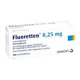 Fluoretten 025 mg tabletki