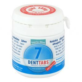 Denttabs tabletki do czyszczenia zębów ze stevią