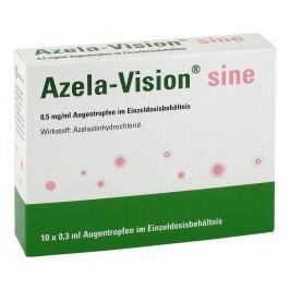 Azela-vision sine 0,5 mg/ml Augentropfen i.einzeldosis.