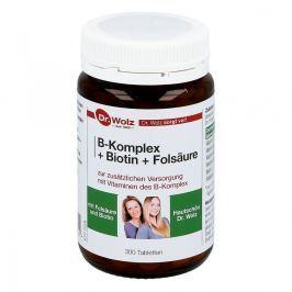 Dr Wolz kompleks witamin z grupy B +biotyna+ kwas foliowy