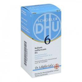Biochemie Dhu 6 Kalium sulfur.D 3 Tabl.