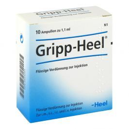 Gripp-heel ampułki