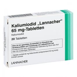 Kaliumiodid Lannacher 65 mg Tabl.