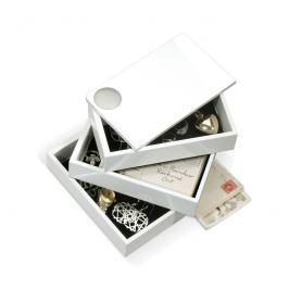 Umbra - Pojemnik na biżuterię - Spindle - biały