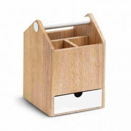 Umbra - Organizer Toto wysoki - drewno naturalne